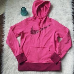 Nike thermal fit hooded sweatshirt-M